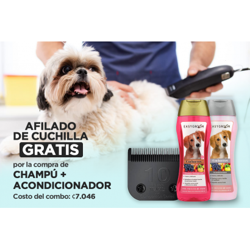 Afilado + 2 Champús Easygroom