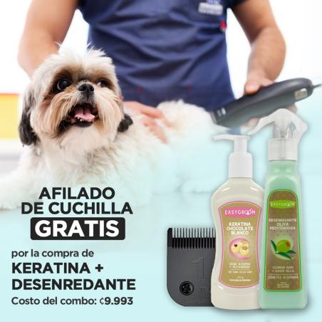 Afilado + Keratina y Desenredante Oliva